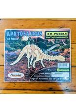 Apatosaurus Wood Skeleton Puzzle 36x12x8cm