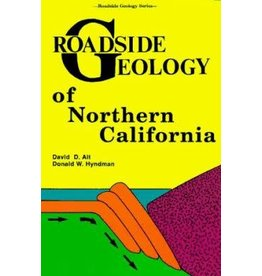 Roadside Geology of Northern California Paperback Book