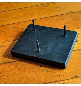 Village Originals Black 3-Peg Stand