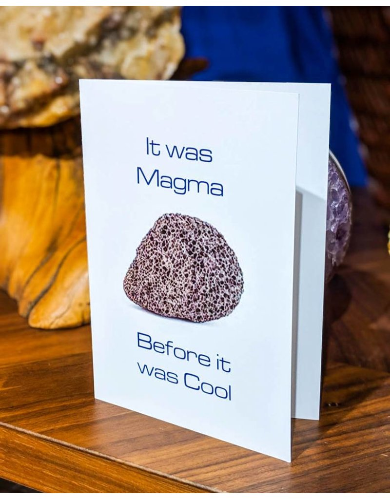 Igneous Theory Pumice Greeting Card