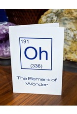 Igneous Theory Element of Wonder Greeting Card