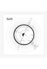 Archie's Press Earth Black on White Print