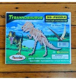 Tyrannosaurus Wood Skeleton Puzzle 33x24x8cm