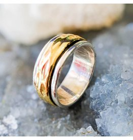 Brass Spinner Ring