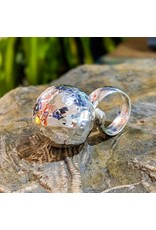 Balaam Design Hammered Ball Ring