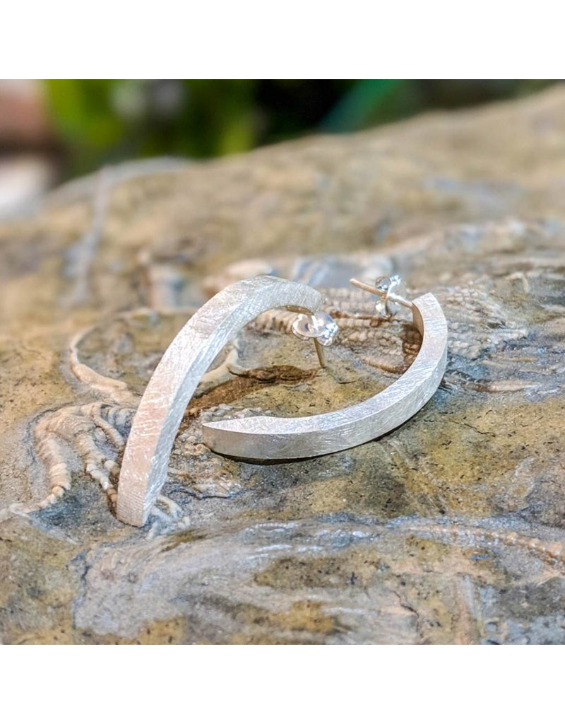 Balaam Design Arc Earrings