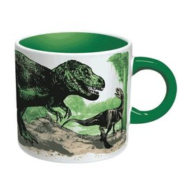 The Unemployed Philosophers Guild Disappearing Dinosaur Mug