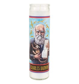 The Unemployed Philosophers Guild Charles Darwin Secular Saint Candle