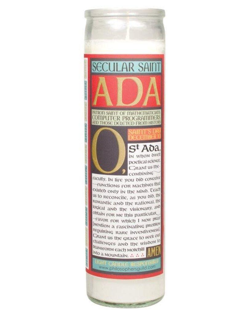 Ada Lovelace Secular Saint Candle