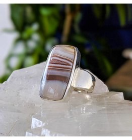Mystic Earth Gems Agate Ring 9