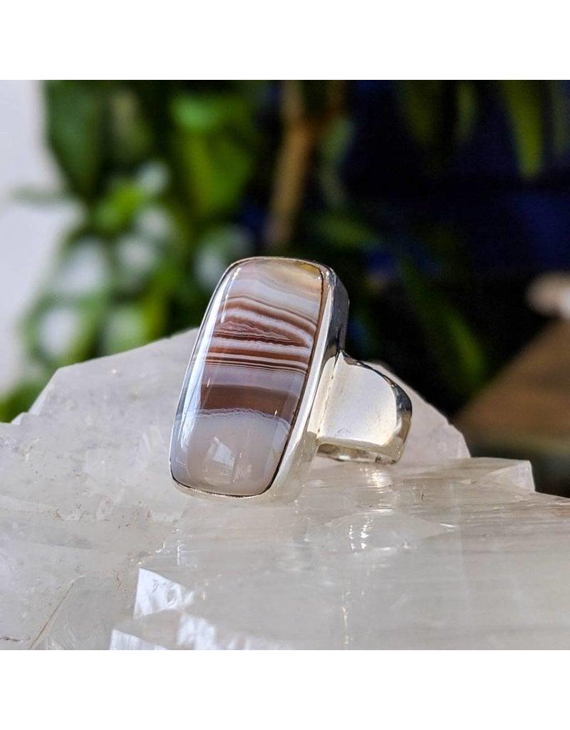 Mystic Earth Gems Agate Ring 9