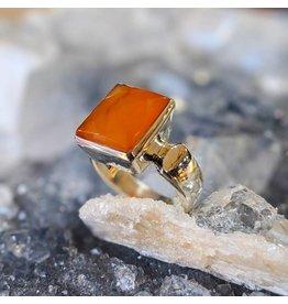 Mystic Earth Gems Carnelian Ring 4