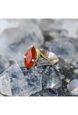 Mystic Earth Gems Carnelian Ring 6