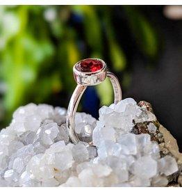 Garnet Ring 5.5
