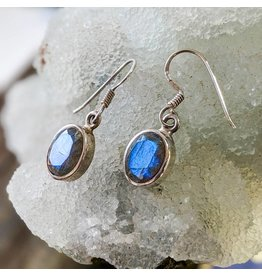 Mystic Earth Gems Labradorite Earrings