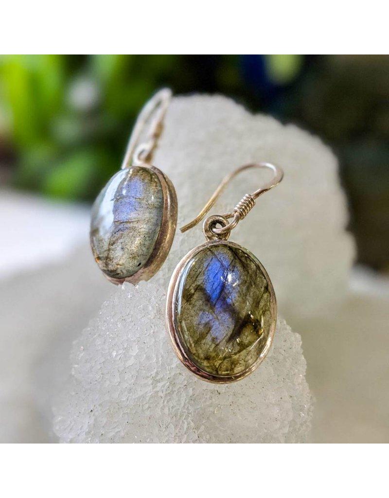 Mystic Earth Gems Labradorite Earrings