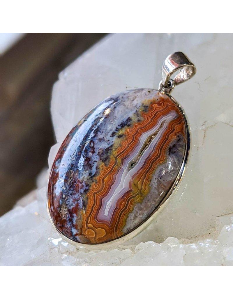 Mystic Earth Gems Orbicular Jasper Pendant
