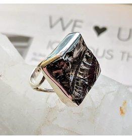 Mystic Earth Gems Shungite Ring 8