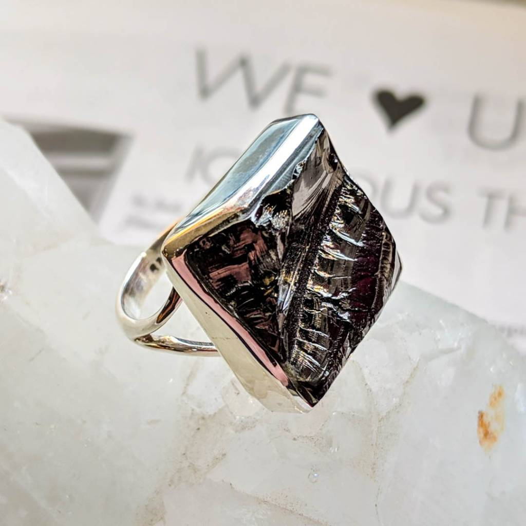 Ring with Shungite #gioiellimadeinitaly #gioiellitaliani #gioiellietnici