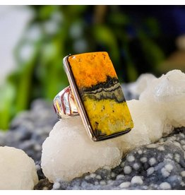 Bumble Bee Jasper Ring 5
