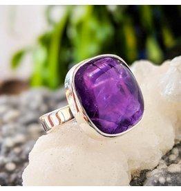 Sanchi and Filia P Designs Amethyst Ring 7.5