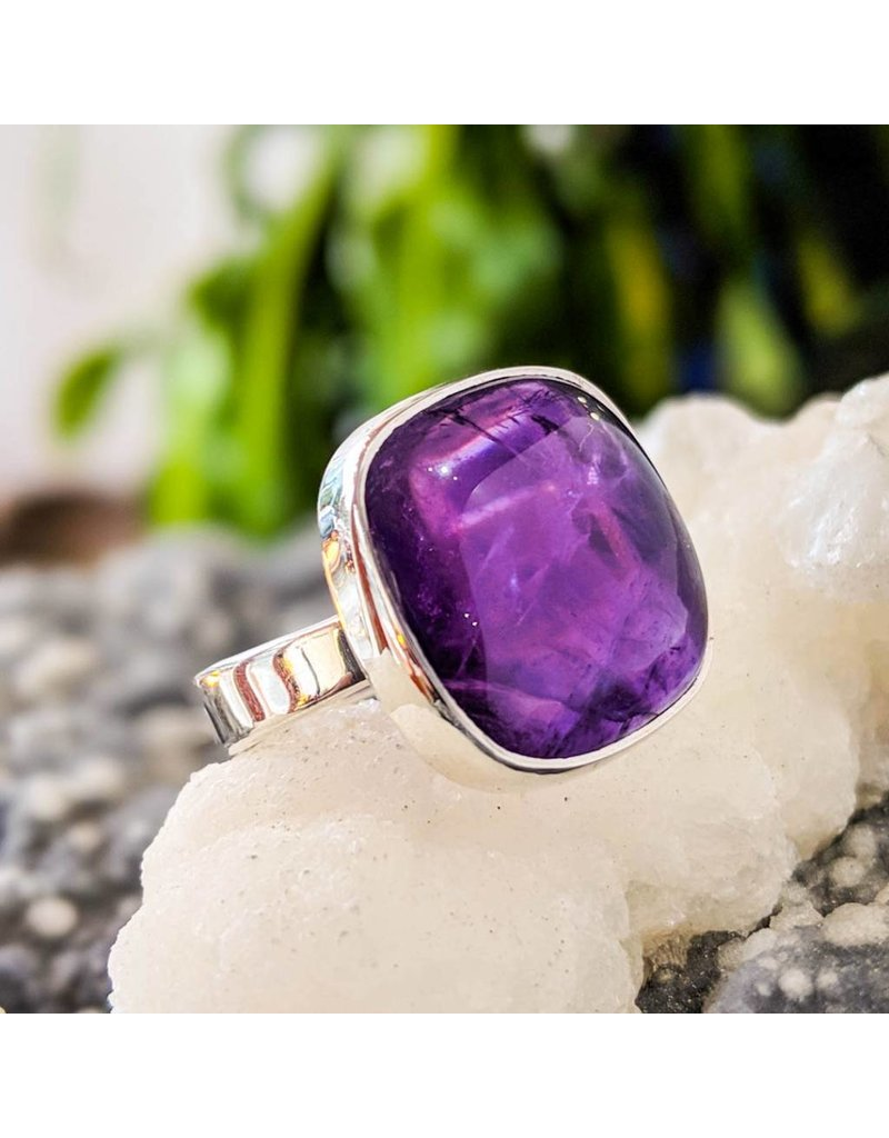 Sanchi and Filia P Designs Amethyst Ring 7.5