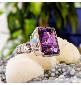 Sanchi and Filia P Designs Amethyst Ring 9