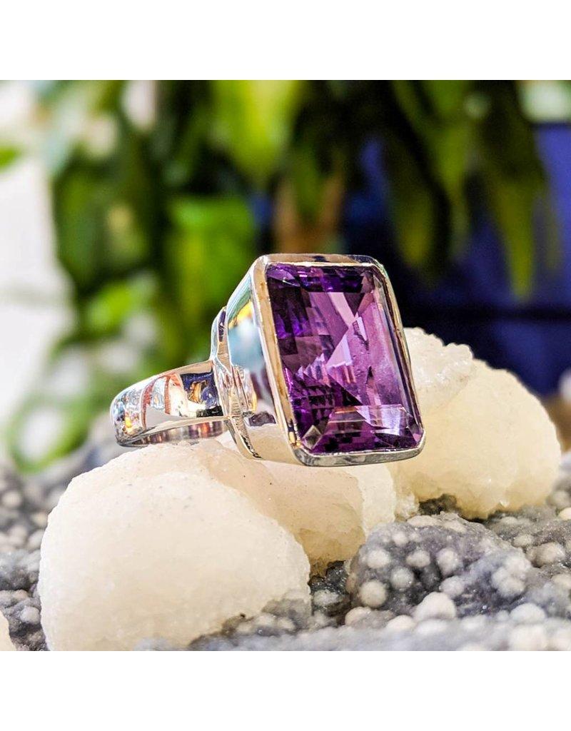 Amethyst Ring 9