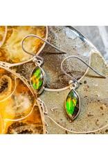 Ammolite Triplet Earrings