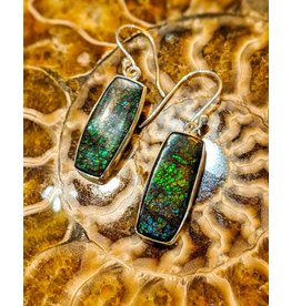 Sanchi and Filia P Designs Ammolite Doublet Earrings