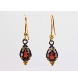Ambica New York Garnet Earrings