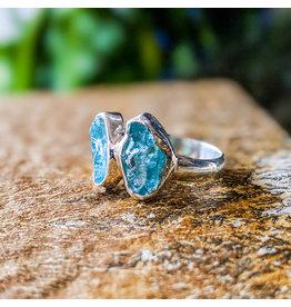 Sanchi and Filia P Designs Double Apatite Ring