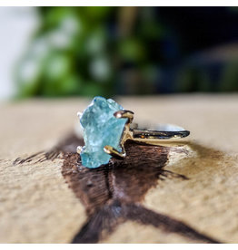 Aquamarine Ring 7