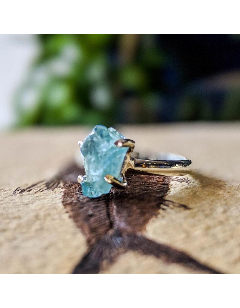 Aquamarine Ring 7