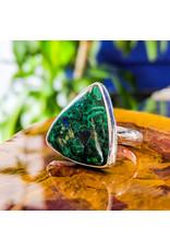 Malachite Azurite Ring
