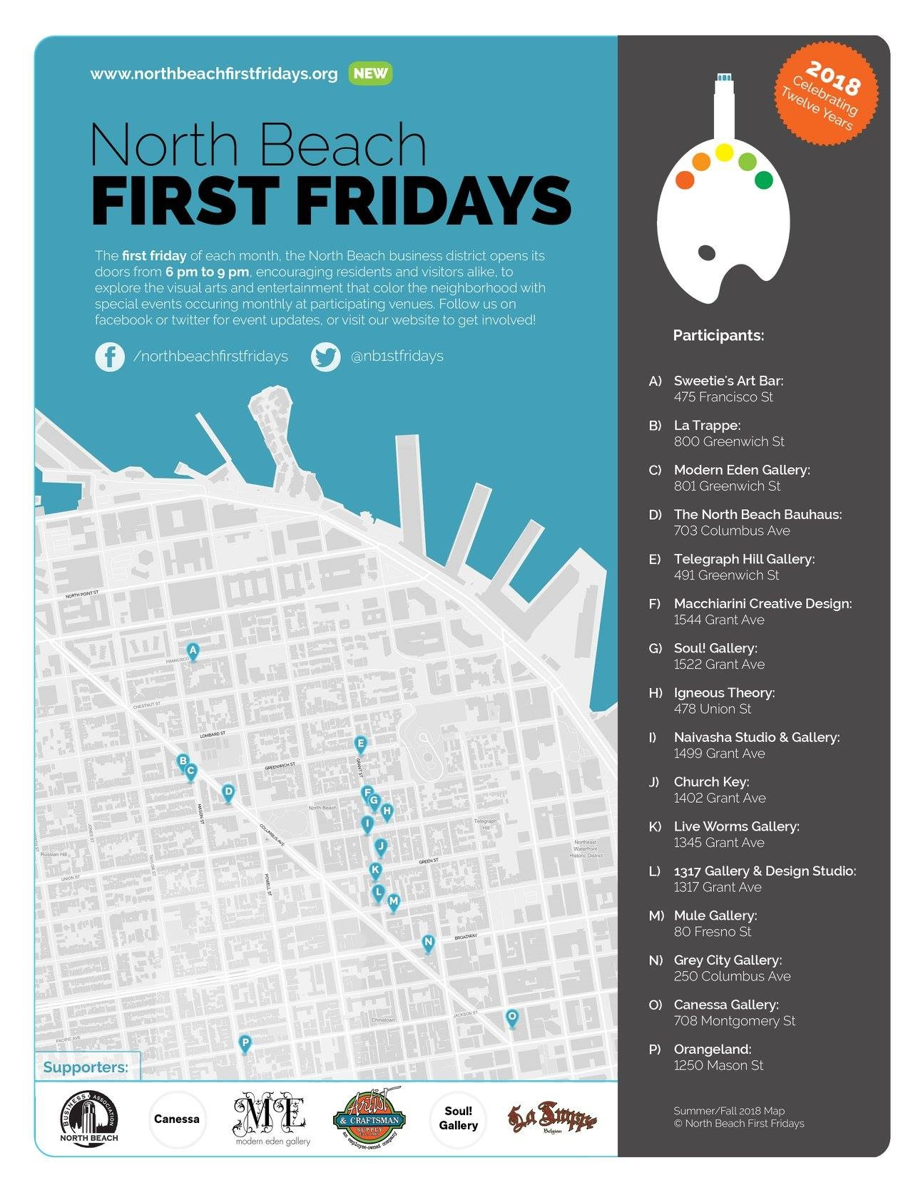 TBD - Apr 5, 2019 - North Beach First Fridays