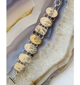 Dendrite Smoky Quartz Bracelet