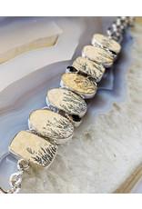 Sanchi and Filia P Designs Dendrite Smoky Quartz Bracelet