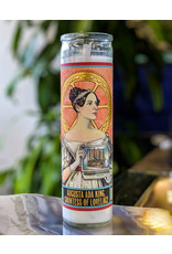 The Unemployed Philosophers Guild Ada Lovelace Secular Saint Candle