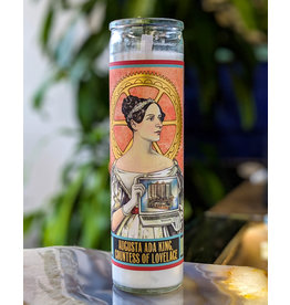 Ada Lovelace Secular Saint Candle