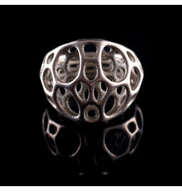 Nervous System Cell Cycle 2-layer Stainless Steel Ring