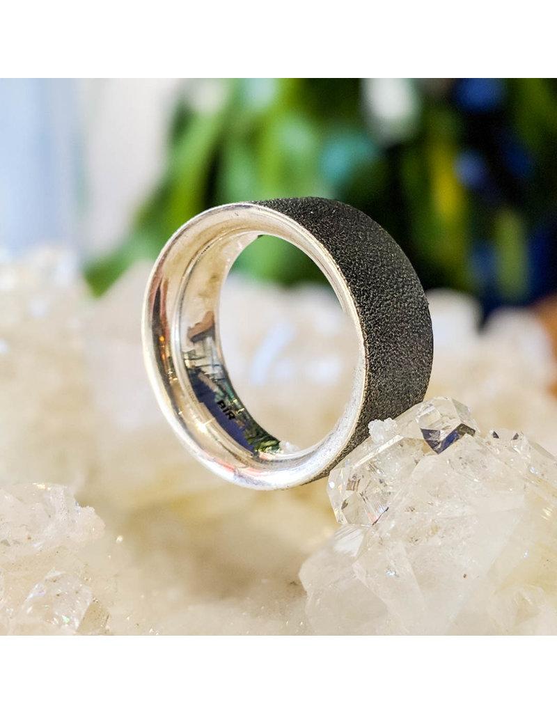 Bora Jewelry Oxidized Silver Ring 10