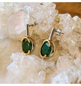 Bora Jewelry Jade Earrings