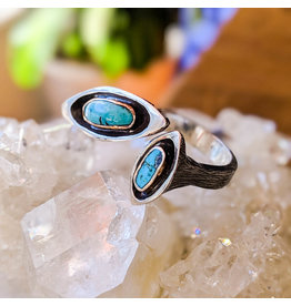 Bora Jewelry Turquoise Ring 6.5