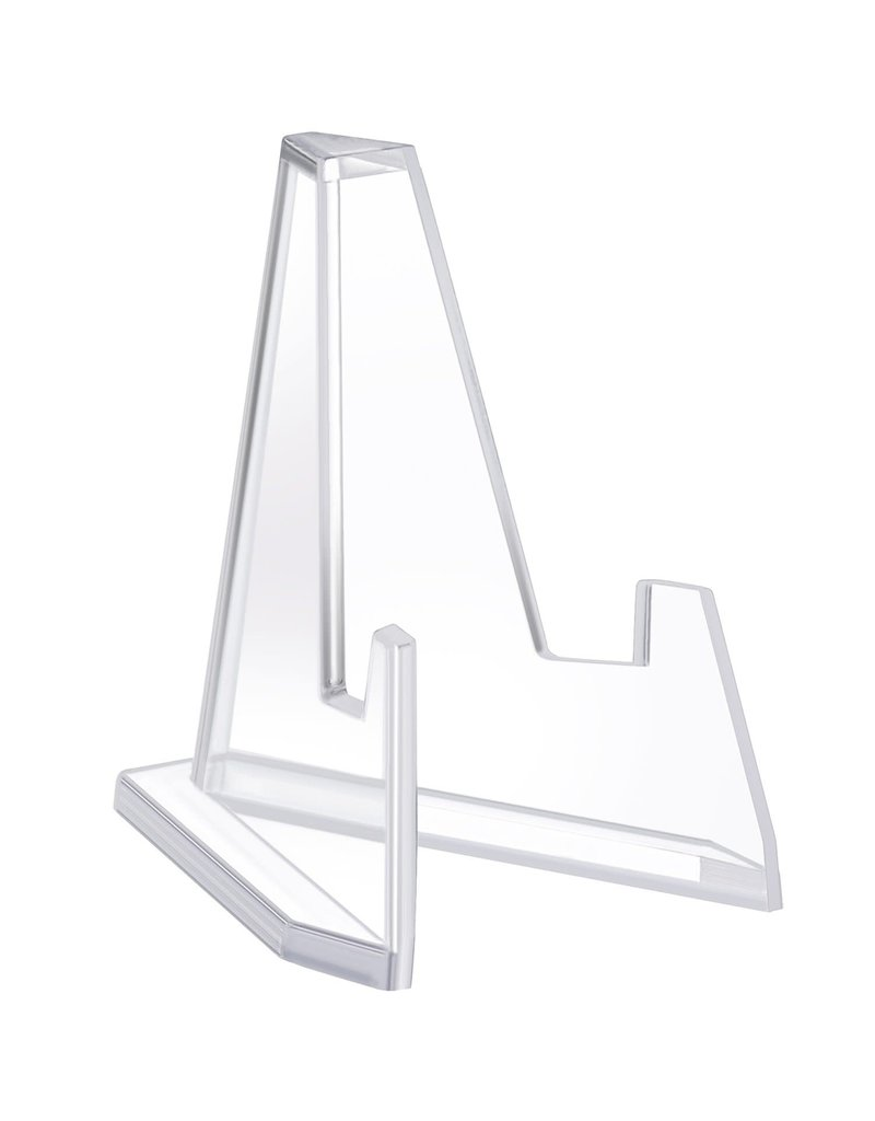 """Acrylic """"V"""" Easel Stand 57mm"""