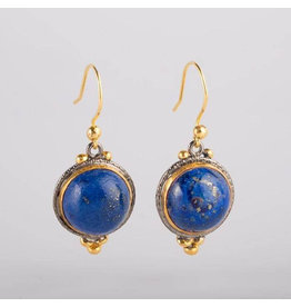 Ambica New York Lapis Lazuli Earrings