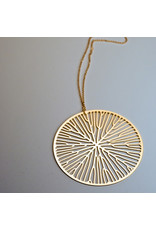 Nervous System Xylem Peltate Pendant with Chain