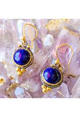 Ambica New York Lapis Lazuli Earrings