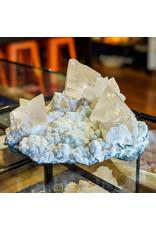 Ravinder Singh Calcite Okenite Celadonite 165x135x80mm 931g India