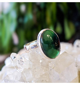 Sanchi and Filia P Designs Nephrite Jade Ring